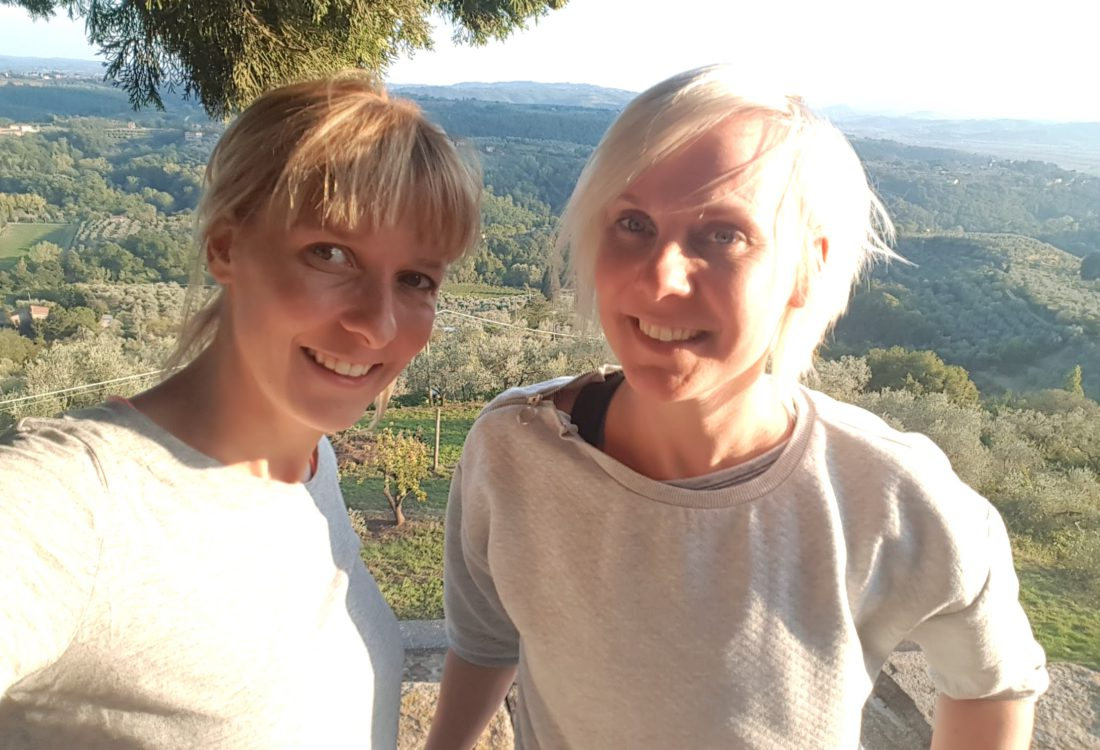 Maison Slash oprichters: Ingrid en Anne