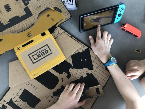 [Vet of Njet] De nieuwe VR Kit van Nintendo Labo. Virtual reality met plooikarton!