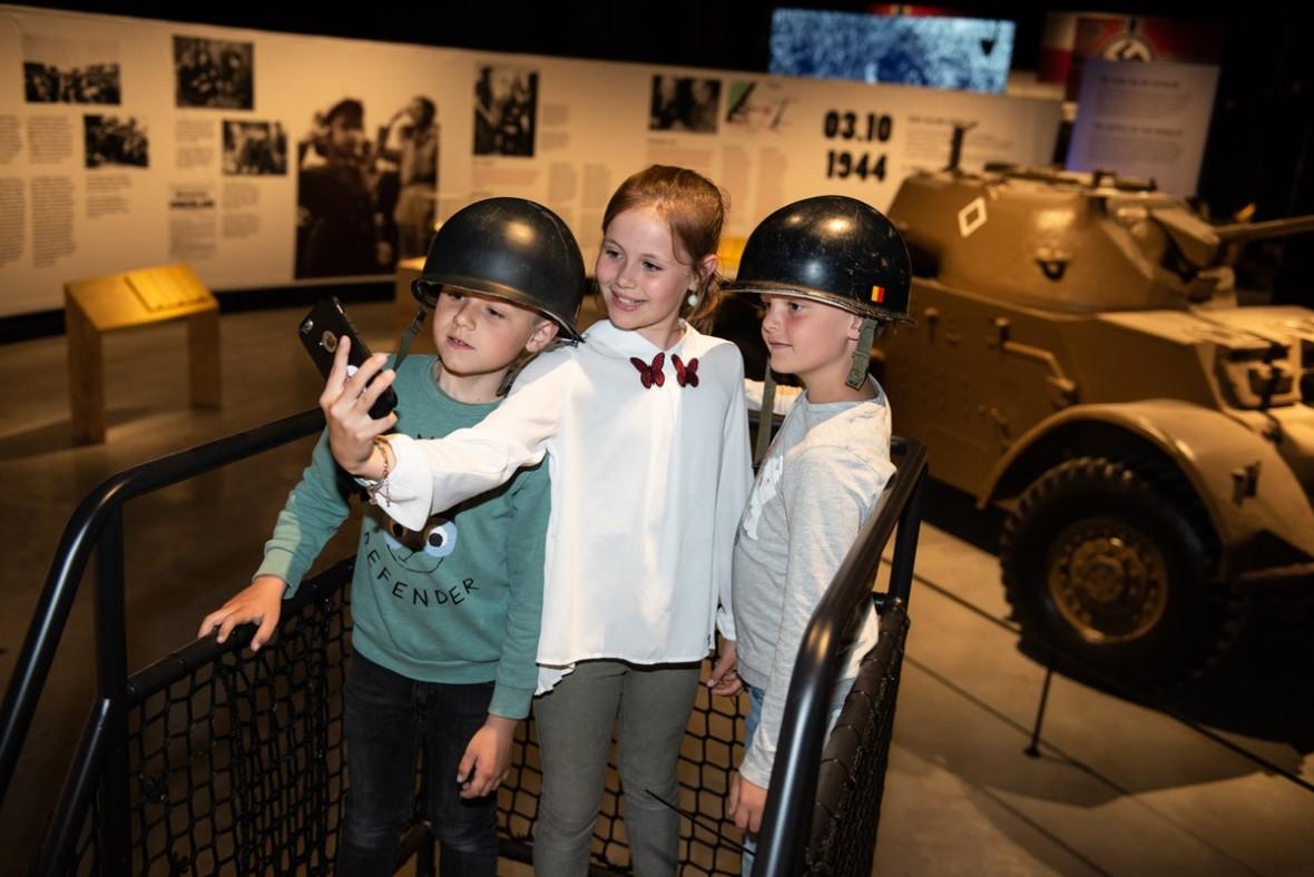 Expo Operatie Noordzee 1940-1944 in Zeebrugge foto