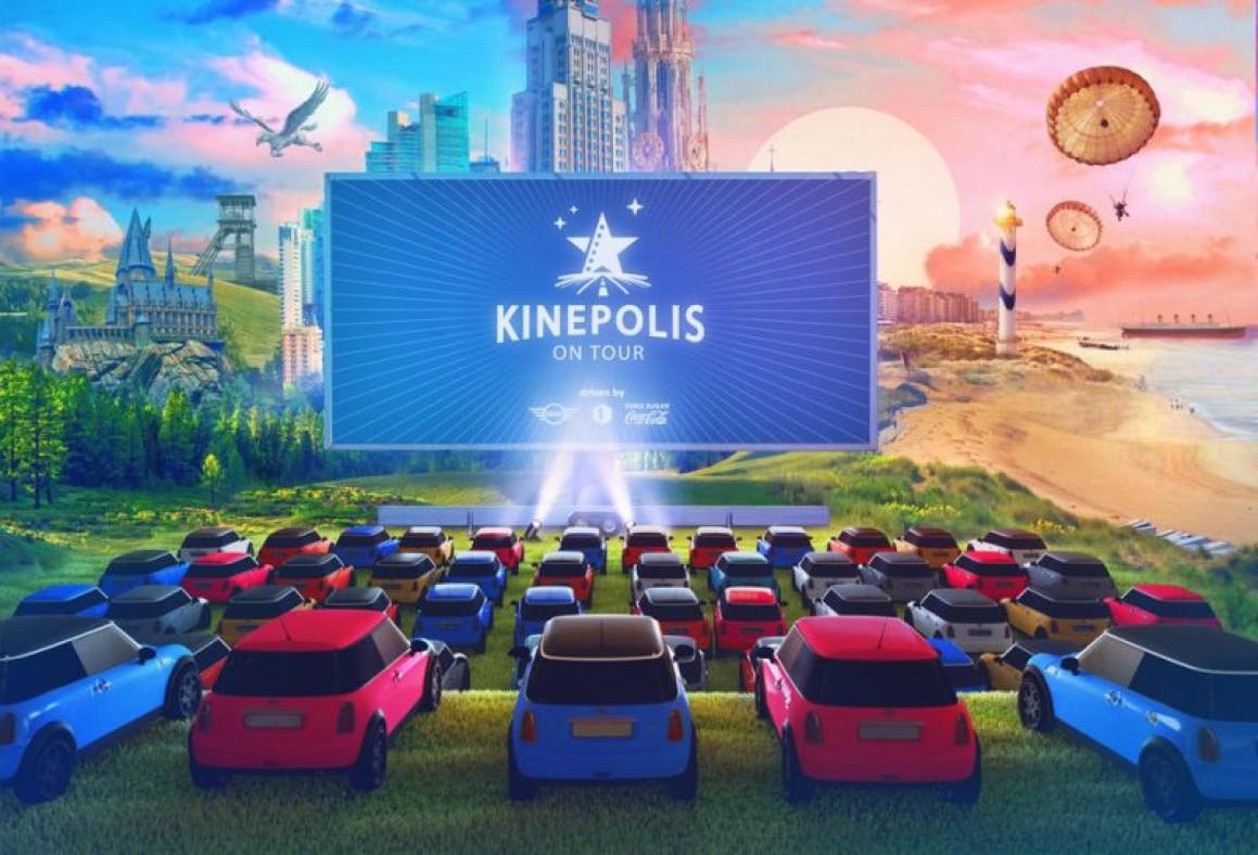 Kinepolis on tour in de zomervakantie foto