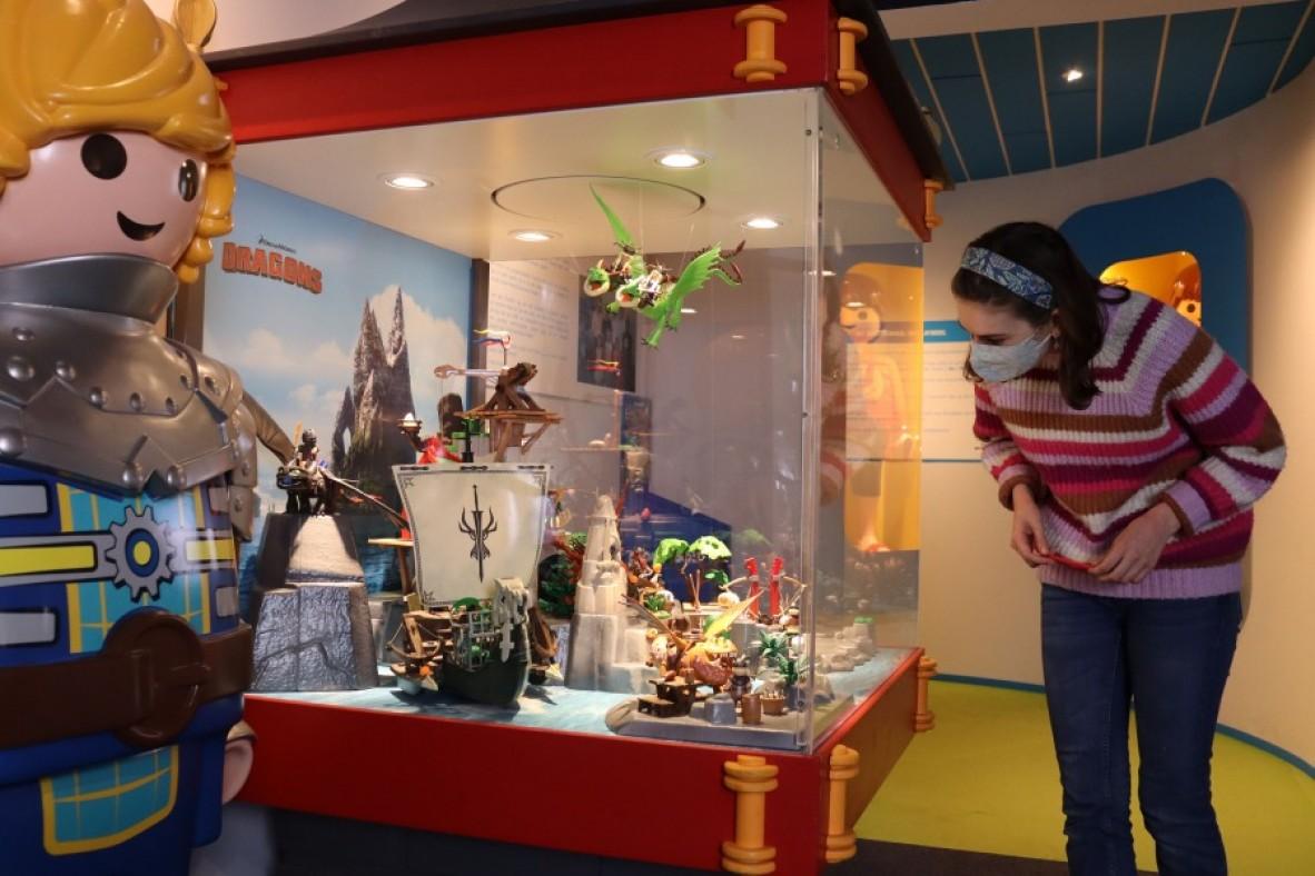 Expo Ridders en Prinsessen in het Speelgoedmuseum foto