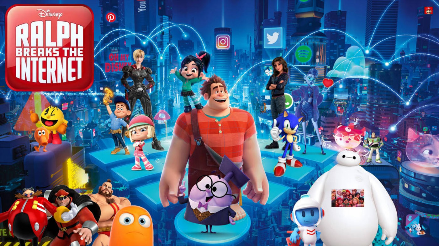 [Vet/Njet] De nieuwste Disney film: Ralph breaks the internet!