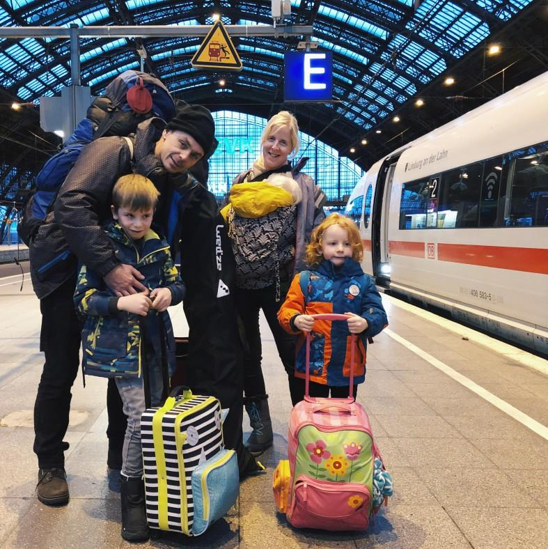 Op Skivakantie Met De Trein Met Drie Kinderen Zottekes Lobke