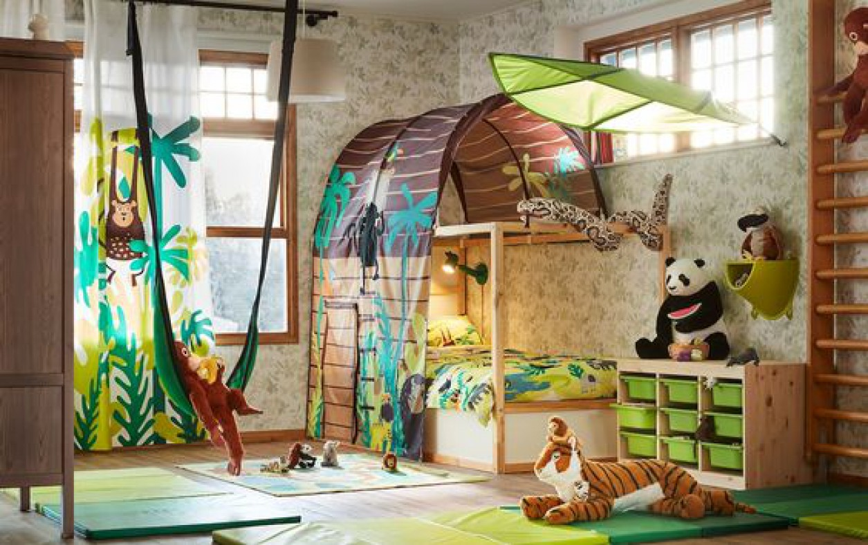 Kinderkamer inspo: Haal de jungle in huis! Grohwaarrr.