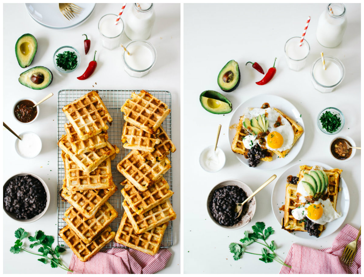 collage hartige wafels 2