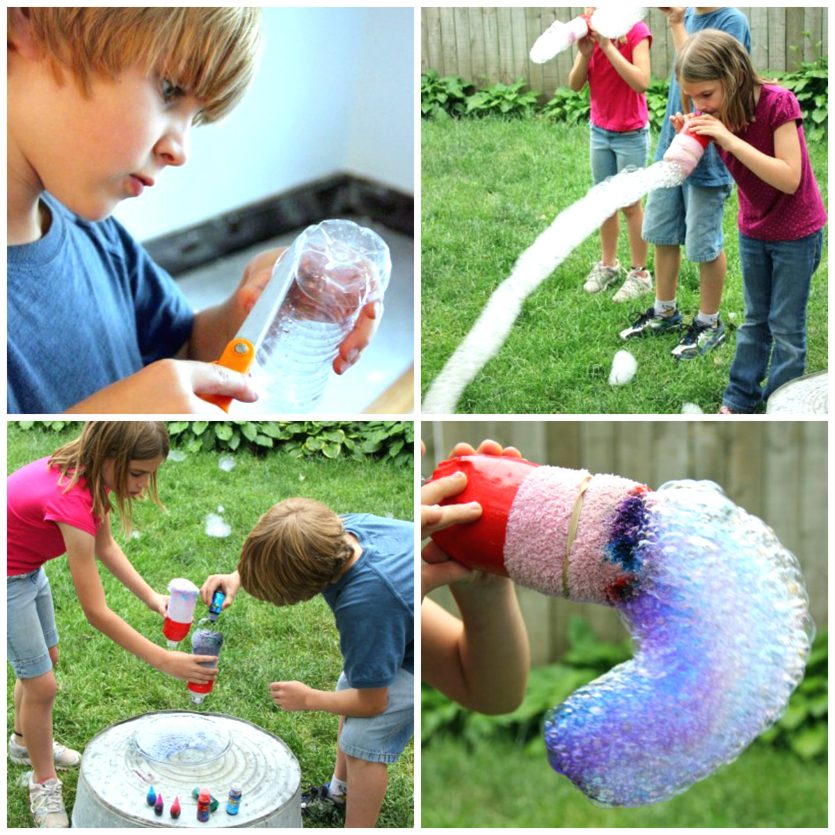 bubble snake maker